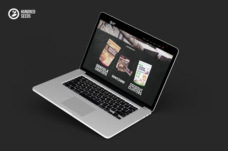 Website Toko Online Untuk Granola Creations