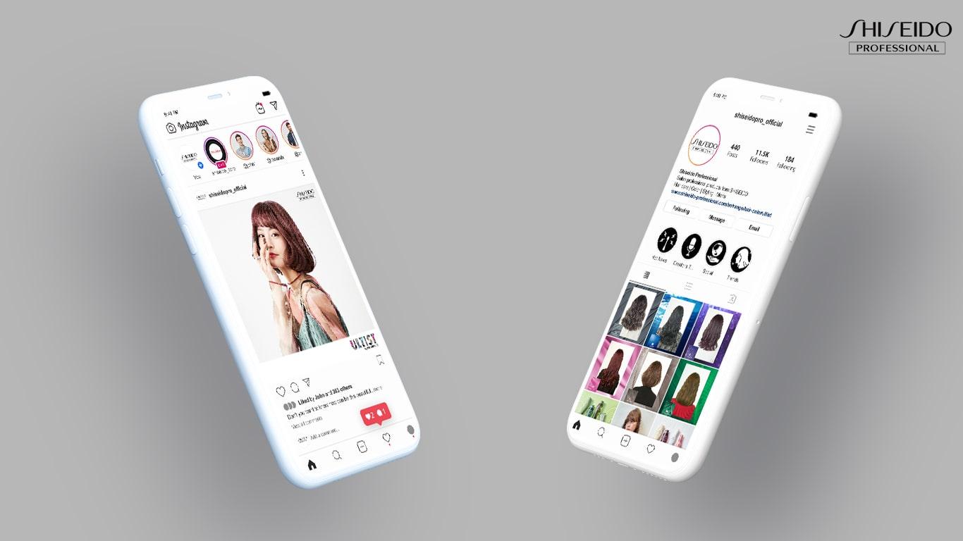 Social Media Content for Shiseido